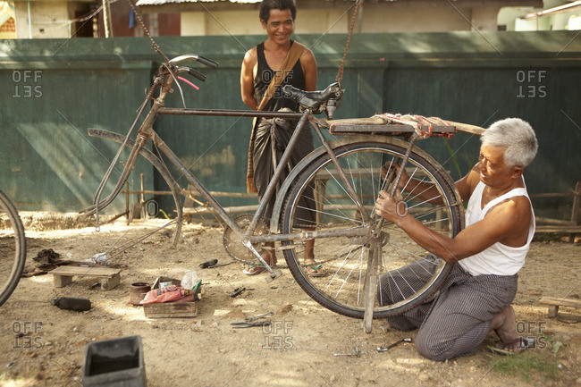 July 15, 2015: Shanstaat in Myanmar