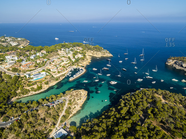 Spain- Balearic Islands- Mallorca- El Toro- Villas near Portals Vells