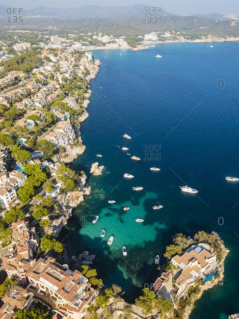 Spain- Balearic Islands- Mallorca- Cala Fornells- Costa de la Calma