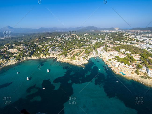 Spain- Balearic Islands- Mallorca- Cala Blance- Costa de la Calma
