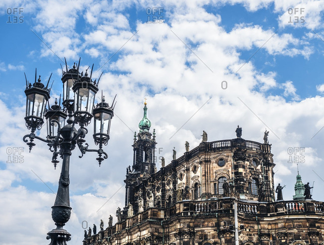 Germany- Dresden- Dresden Cathedral - Offset
