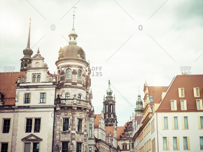 Germany- Dresden- architecture in the old town