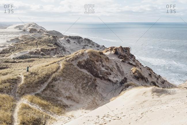 Denmark- North Jutland- steepcoast at lighthouse Rubjerg Knude