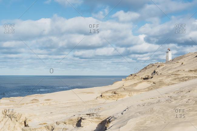 Denmark- North Jutland- lighthouse Rubjerg Knude