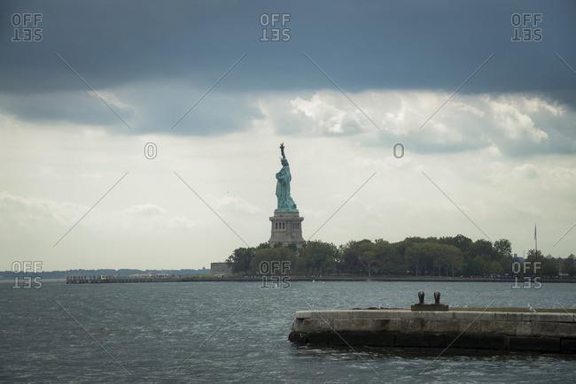USA- New York City- Statue of Liberty on Liberty Island