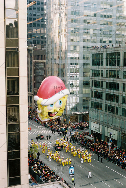 New York City - October 14, 2016: Thanksgiving parade in NYC