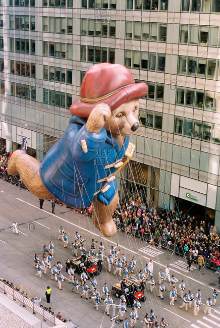New York City - October 14, 2016: Thanksgiving parade in Manhattan