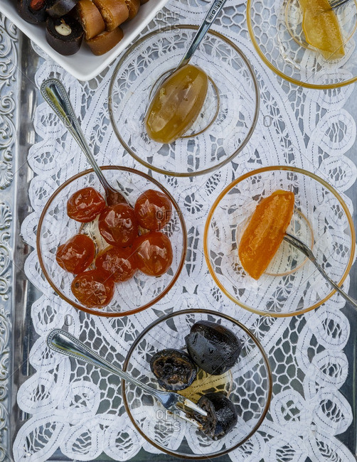 Sweet products of Nikis Sweets, Agros, Cyprus