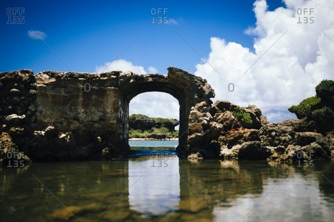 The Inarajan pools in southern Guam