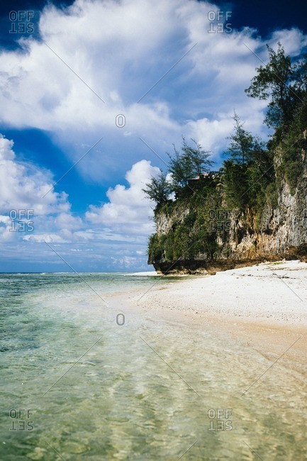Ritidian beach in northern Guam