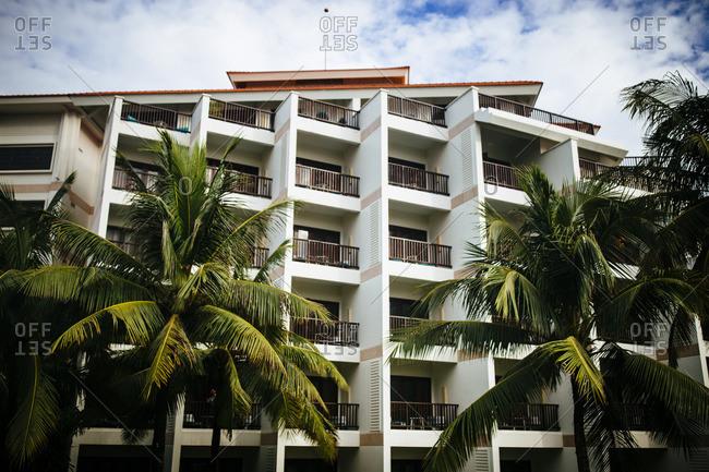 Exterior of resort in Danang, Vietnam