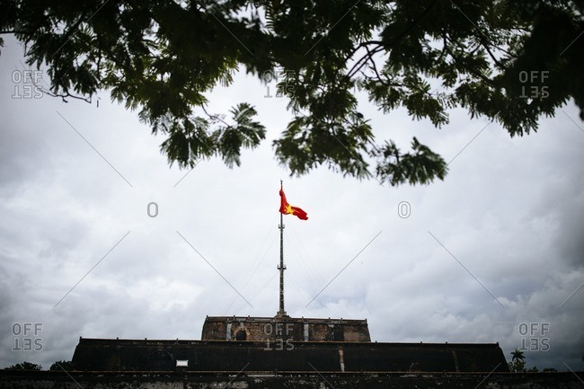 The Imperial Citadel in Hue, Vietnam