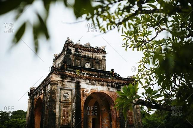Tu Duc's tomb, Hue, Vietnam