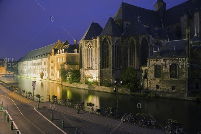 Cathedral on canal