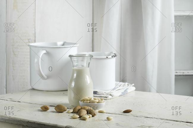 Vegan milk- almond milk