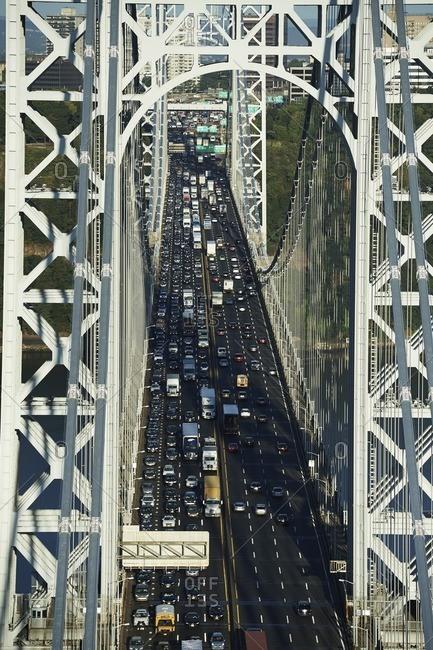 New York City, USA - September 23, 2016: George Washington Bridge
