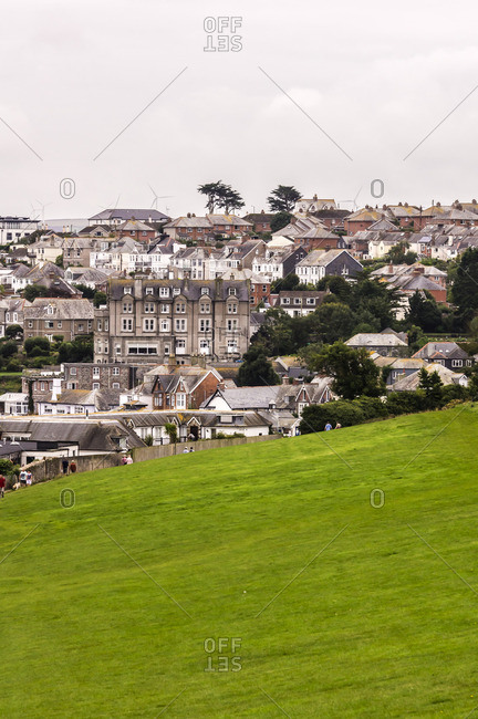 UK- England- Cornwall- Pads tow- townscape