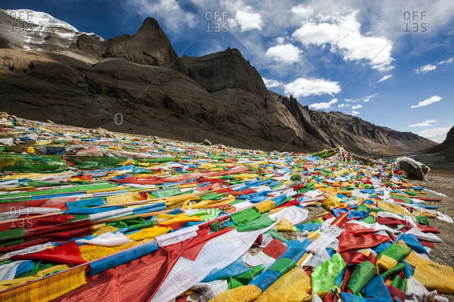 Prayer Flags from the Offset Collection