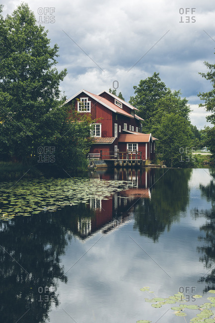 Sweden, Mill by river