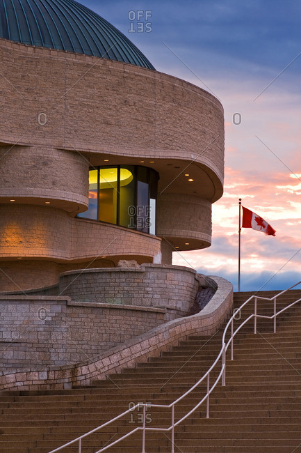 Exterior of Canadian Museum of Civilization, Hull, Quebec, Canada