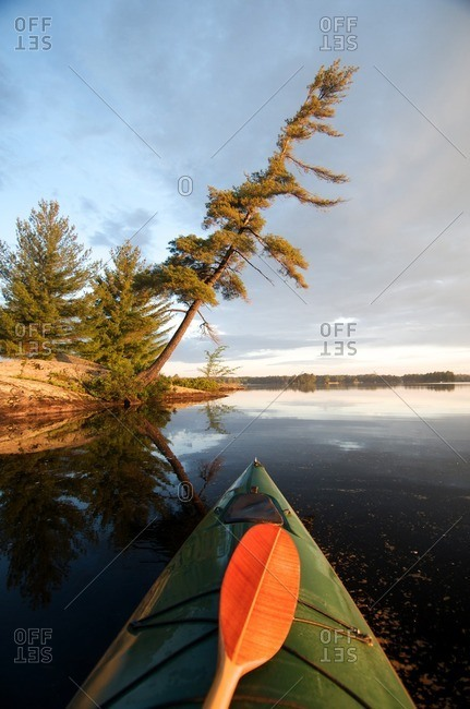 Kayak, Pine Tree, Kahshe Lake, Muskoka, Ontario