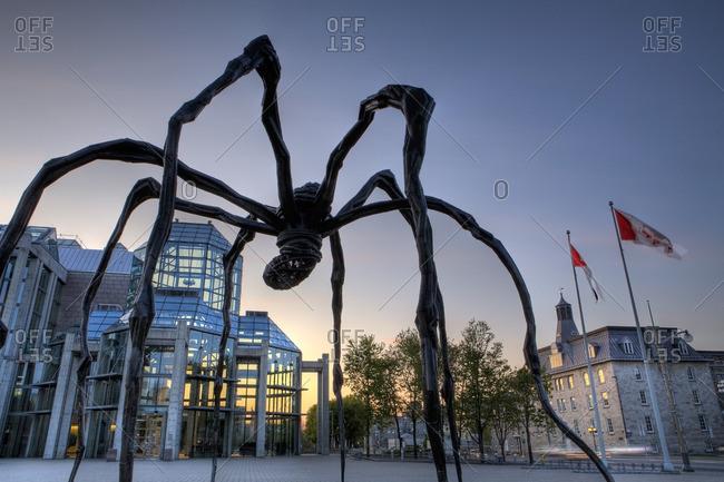 Ontario, Canada - May 11, 2009: National Art Gallery, Ottawa, Ontario, Canada
