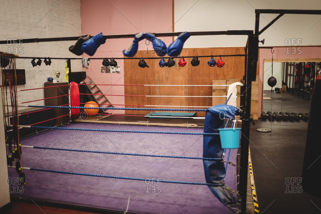empty boxing gym - photo #1