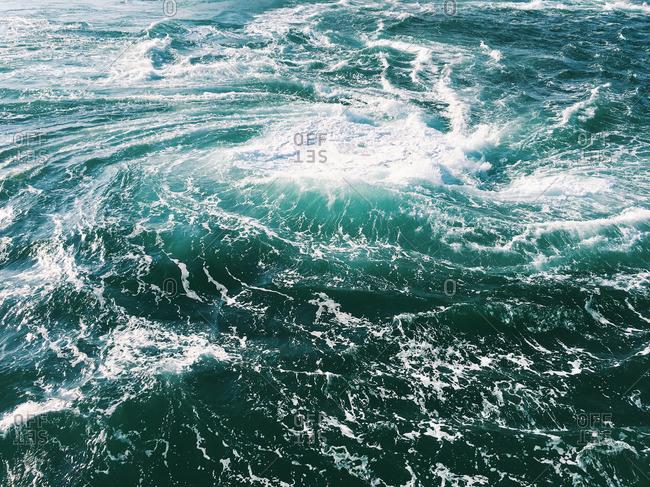 Whirling tide in Tokushima, Japan
