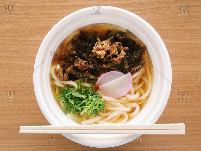 Udon noodle with Aso beef
