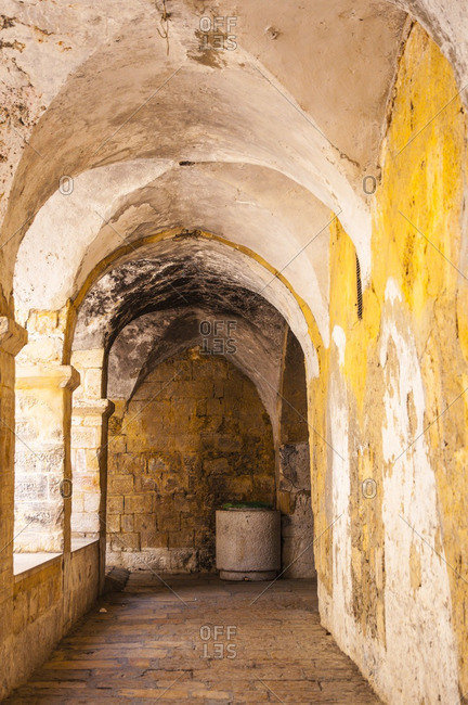 Inside King David's Tomb, Jerusalem, Israel