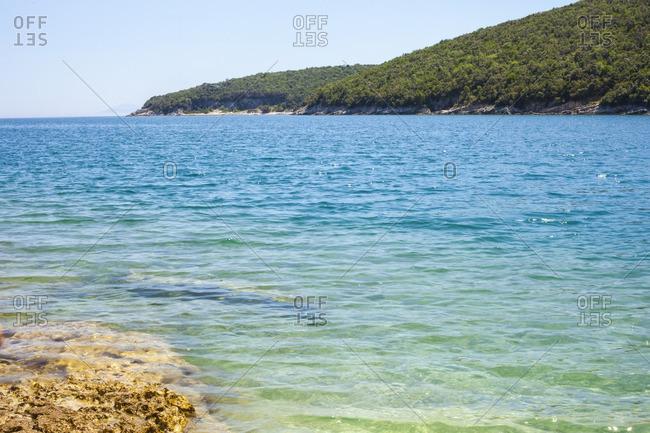 Adriatic Sea off the coast of Croatia