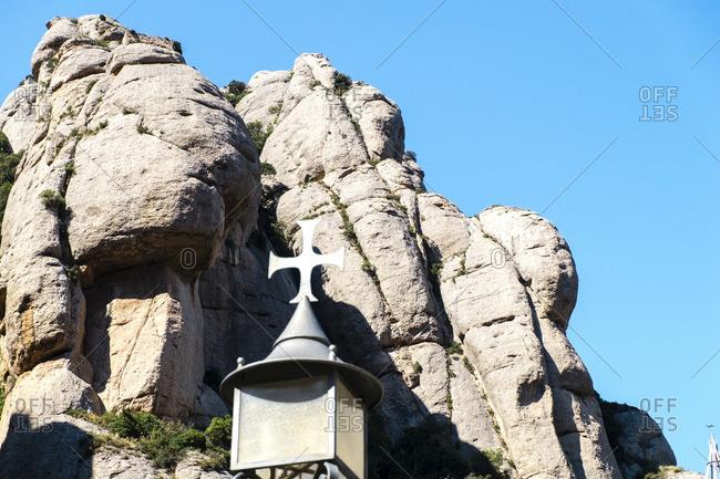 Montserrat Mountain in Barcelona