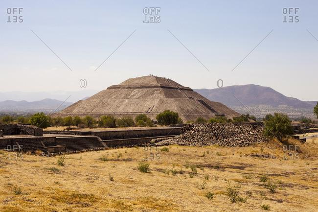 Teotihuac�n pyramid in San Juan Teotihuacan de Arista, Mexico