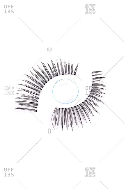 Contact lenses and fake lashes