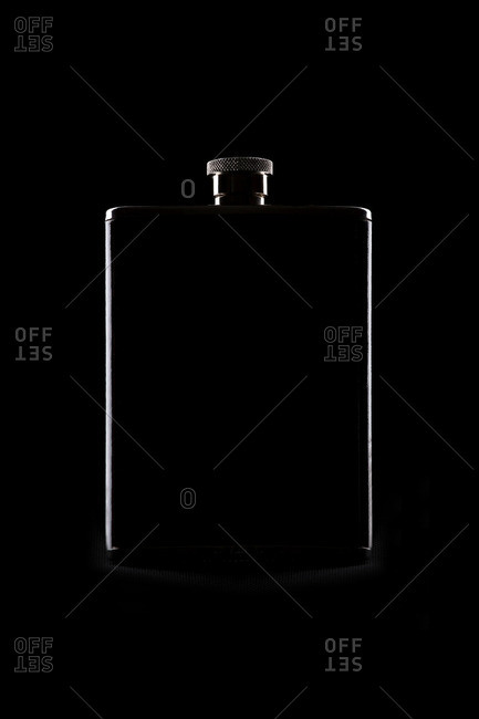 Still life of flask