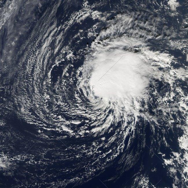 Tropical storm Zeta, 2nd January 2006
