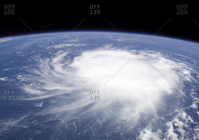 Tropical Storm Chris, ISS image
