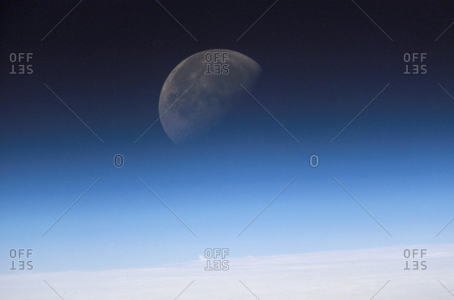 Moon photo from the Offset Collection