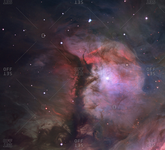 M43 in the Orion nebula