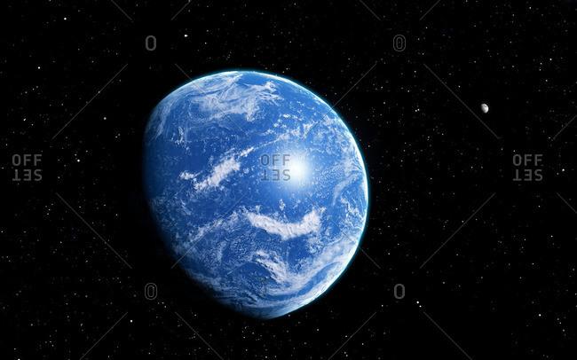 Ocean planet, artwork