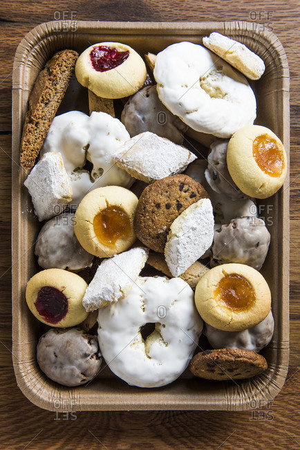 Variety of Italian cookies - Offset