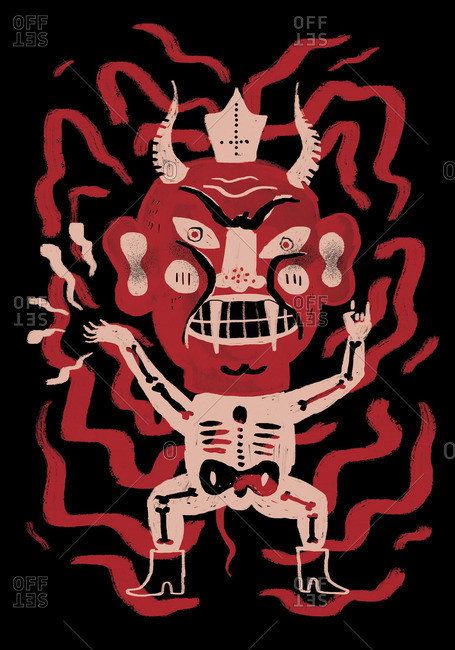 An evil demon