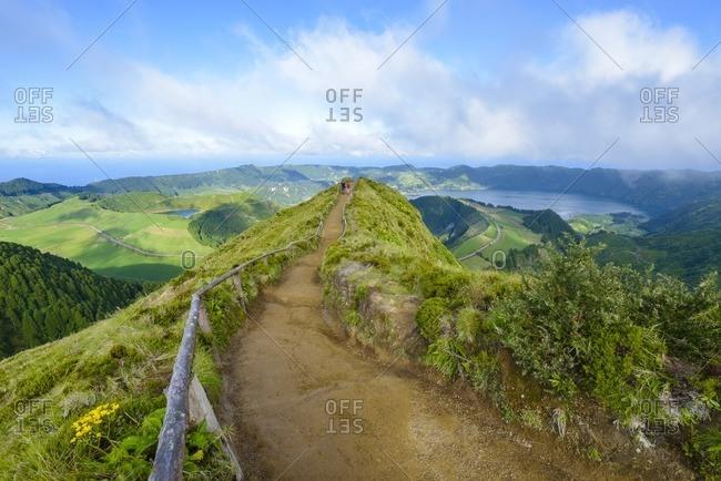Portugal- Azores- Sao Miguel- Caldera Sete Cidades