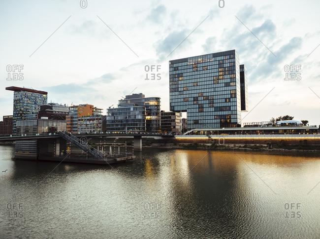 Germany- Duesseldorf- luxury hotel at Media Harbour
