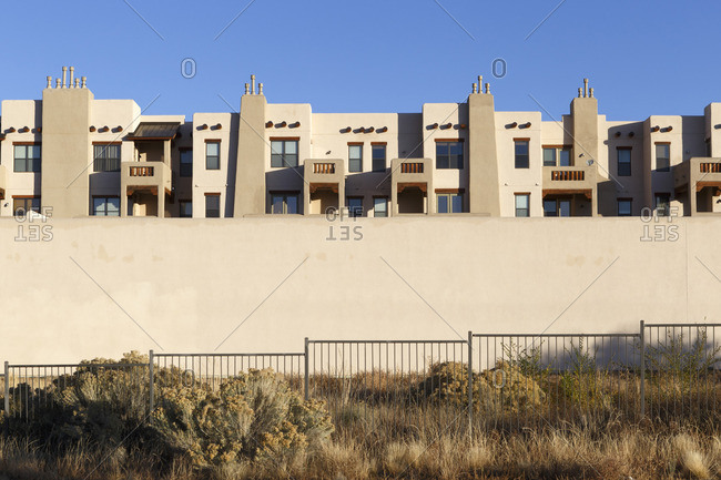 Housing complex in Santa Fe