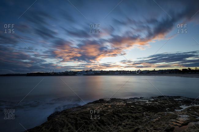 Sunset At Bondi Beach In Sydney One Of The Most Famous Beaches Australia Stock Photo Offset