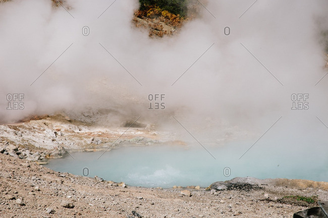Hot springs in rural Montana