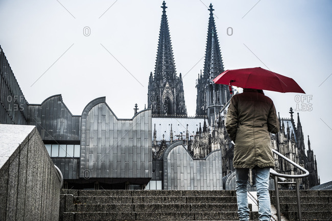 Gothic cathedral in Koln, Germany, Europe