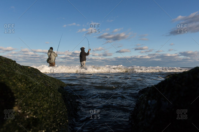 Jersey shore stock photos offset for Jersey shore fishing