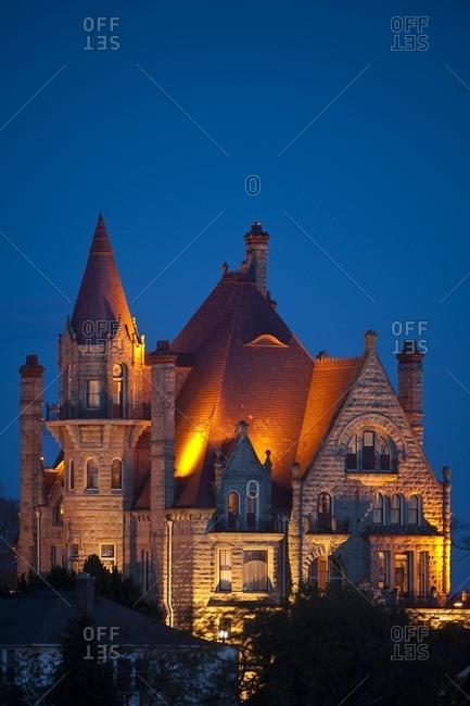 Craigdarroch Castle historic site, Victoria, British Columbia, Canada